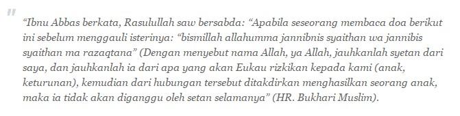 Berdoa pada malam pertama dalam islam