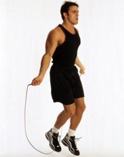 Gerakan skipping menggunakan tali meningkatkan daya tahan seks