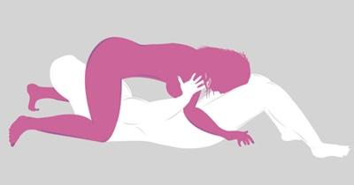 Gaya 69 menyulitkan wanita orgasme