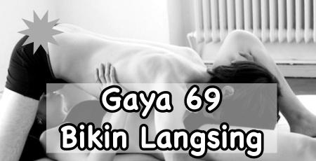 Gaya bercinta 69 bikin tubuh langsing