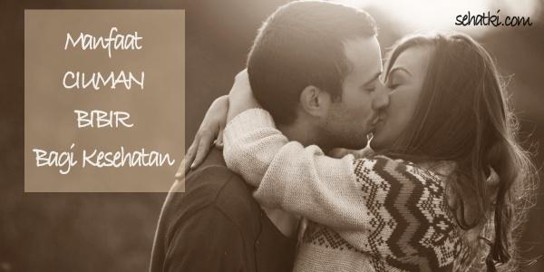 Manfaat berciuman bibir