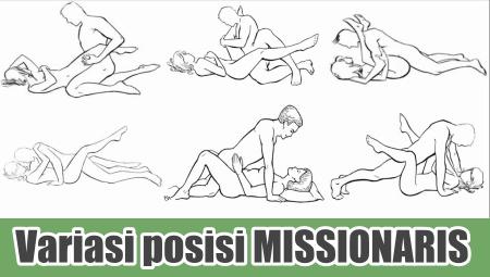 Variasi posisi misionaris