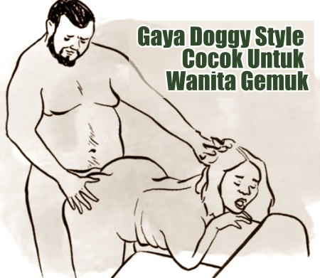 Posisi bercinta doggy style cocok untuk wanita gemuk
