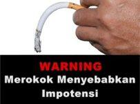 Merokok sebabkan impotensi