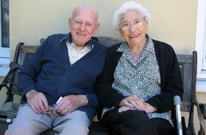 Pasangan tertua di Inggris meninggal dunia