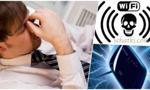 Signal wifi menyebabkan kemandulan