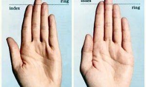 Cek Kanker Prostat menggunakan jari telunjuk dan jari manis