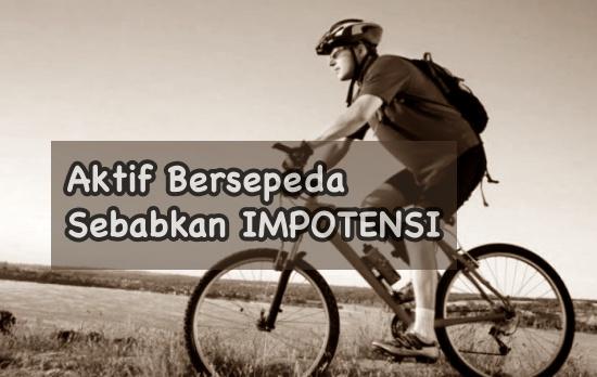 Bersepeda sebabkan impotensi pada pria