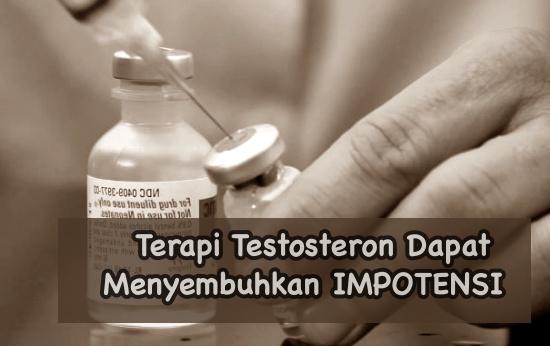 Terapi testosteron untuk menyembuhkan impotensi