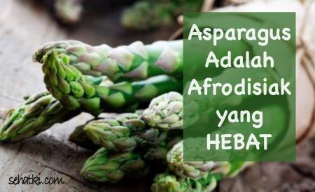Asparagus menyembuhkan impotensi pada pria