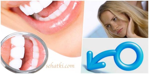 Jarang sikat gigi penyebab impotensi