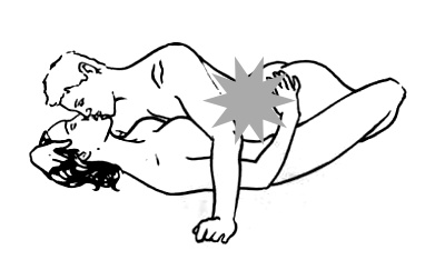 Posisi bercinta misionaris bikin tubuh langsing