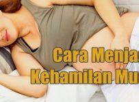 Cara sehat menjaga kehamilan muda