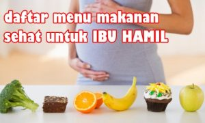 Menu makanan sehat ibu hamil