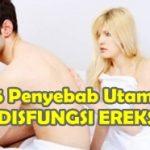 5 Penyebab Utama Disfungsi Ereksi Pada Pria