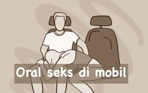 Oral seks di dalam mobil
