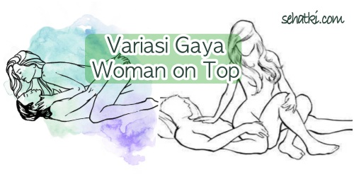 Variasi gaya bercinta woman on top