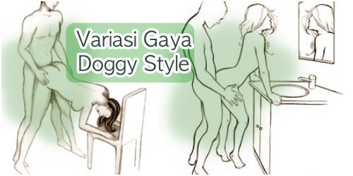 Variasi posisi bercinta doggy style