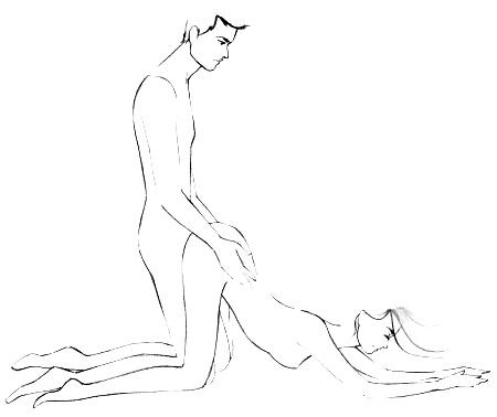 Posisi seks doggy saat gunakan kondom