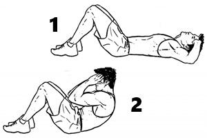 Seks jadi tahan lama dengan latihan sit up