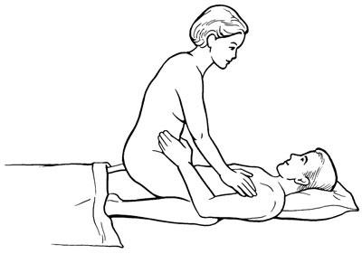 Posisi seks woman on top menimbulkan sakit