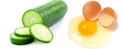 Membesarkan payudara dengan mentimun dan kuning telur secara alami