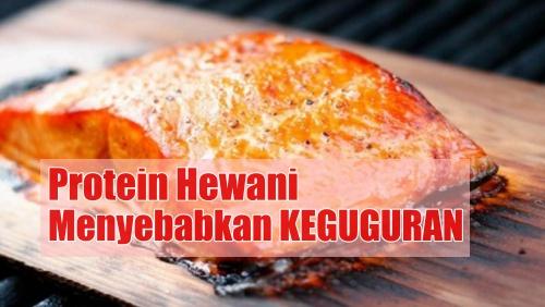 Ikan mentah menyebabkan keguguran